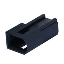 3.68mm pitch female housing in black color