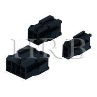 P3020 Female Dual Row Plug Housing Connector with Panel Mount Ears