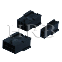 P3020 Female Dual Row Plug Housing Connector without Panel Mount Ears