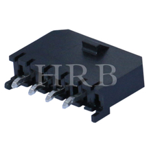 DIP M3045 vertical single row header connector with PCB Polarizing Peg