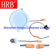 Lamp connector of 2 poles HRB brand